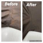 脇の変色|修復事例
